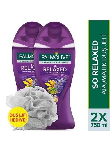 Palmolive Aroma Sensations So Relaxed Aromatik Banyo Ve Duş Jeli 2 X 750 Ml + Duş Lifi Hediye Renksiz